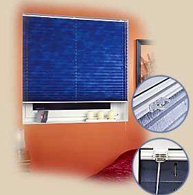 System żaluzji plisowanych do każdego typu  i kształtu okien